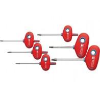 Набор отверток TORX с Т-образной рукояткой PB Swiss Tools PB 1441.