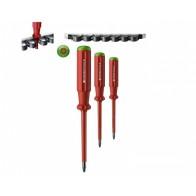 Набор крестовых диэлектрических отверток Pozidriv PB Swiss Tools PB 5565.CN