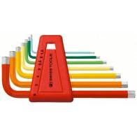 Набор штифтовых ключей HEX PB Swiss Tools PB 210.H-6 RB