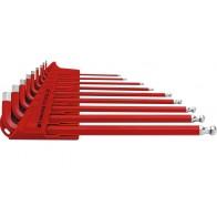 Набор красных штифтовых ключей HEX PB 212L.H-10 RE